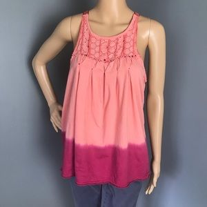 Free People Razor Bake Tank Top Small Orange